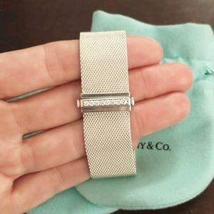 Tiffany & Co. Sterling silver Somerset bracelet